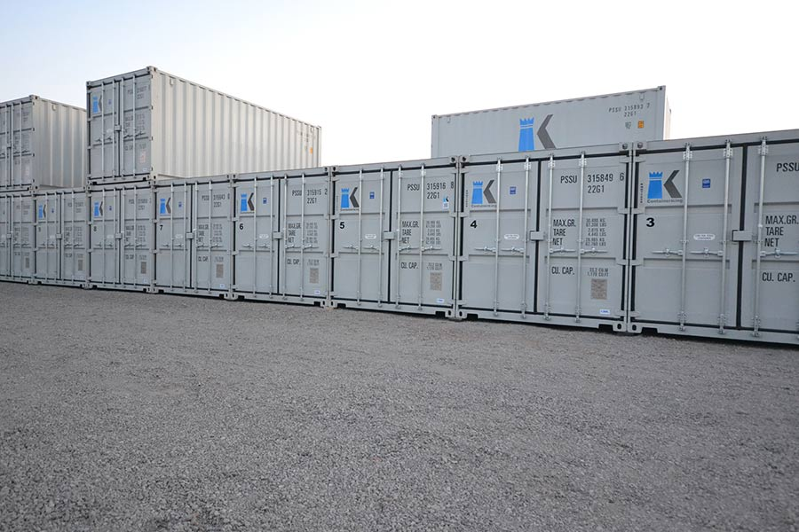 ContainerKing Secure Dry Self Storage units in Scunthorpe